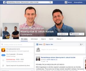 Rehabilitacja Wawrzyniak & Korżak – strona na Facebooku