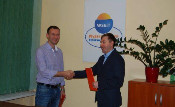 Umowa partnerstwa naukowego z Wyższą Szkołą Edukacji i Terapii w Szczecinie