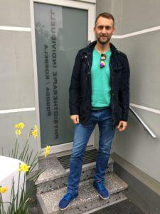 Fizjoterapeuta Adrian Wawrzyniak